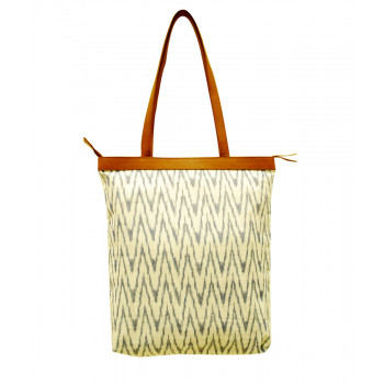 Personalized Ikat Tote
