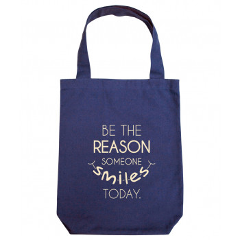 Customized Tote Bag (Blue)