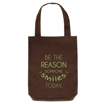 Personalized Tote Bag (Brown)