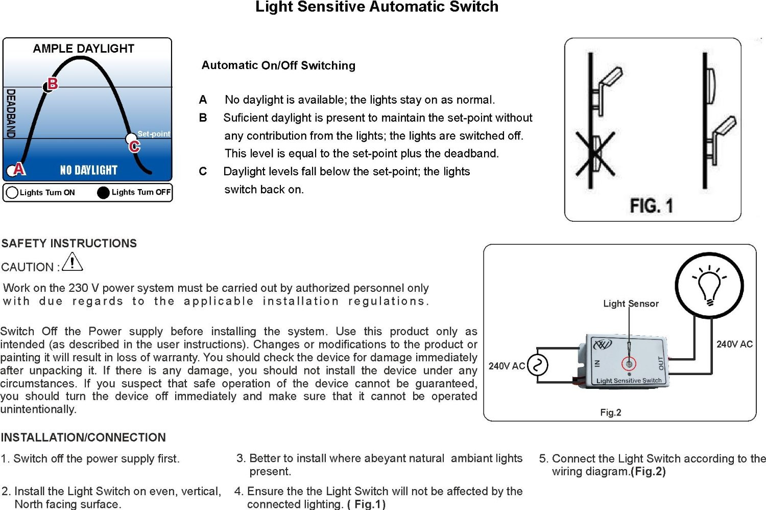 4_2 automatic day night light sensor switch motion sensors & light day night sensor wiring diagram at panicattacktreatment.co