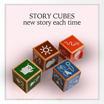 story telling cubes